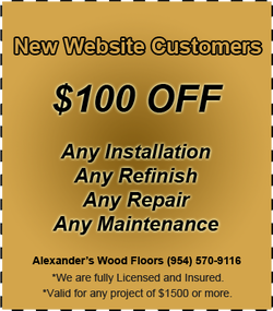 Wood Floor Repair Coral Springs